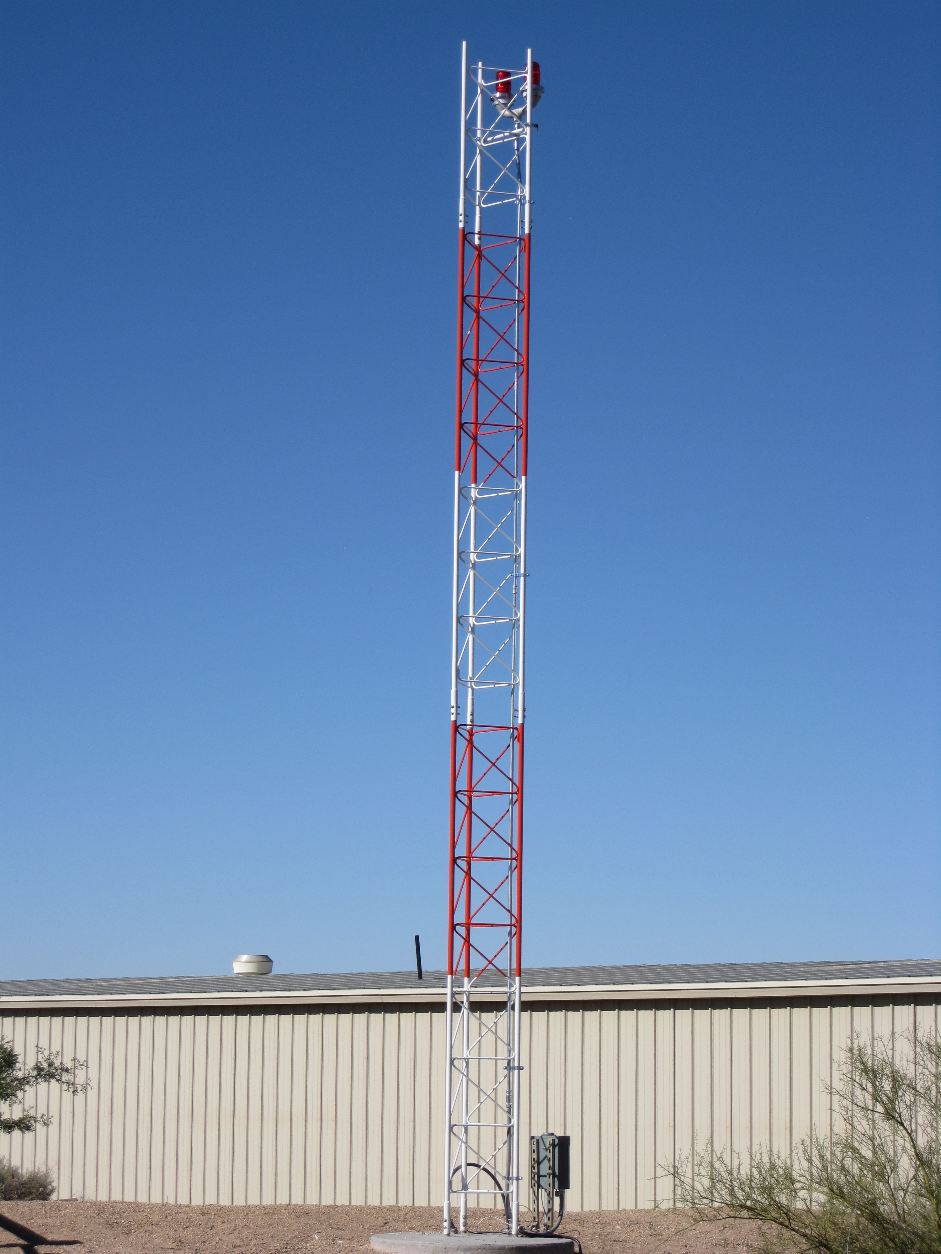 AWOS tower