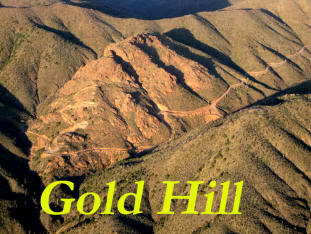Gold Hill mine aerial